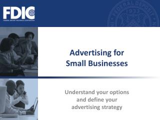 Advertising for  Small Businesses