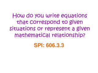 SPI: 606.3.3