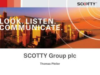 SCOTTY Group plc