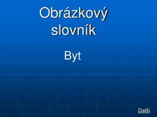 Obr�zkov� slovn�k