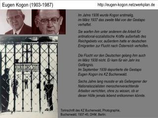 Eugen Kogon (1903-1987)