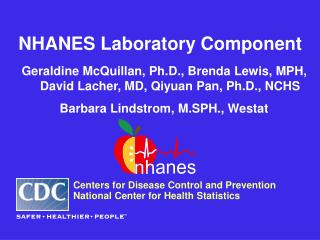 NHANES Laboratory Component Geraldine McQuillan