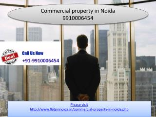 commercial property in noida 9910006454