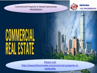 commercial property in noida expressway 9910006454