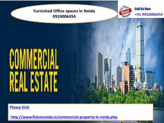 furnished office space in noida 9910006454