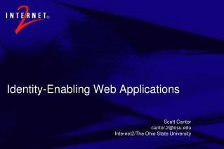 Identity-Enabling Web Applications