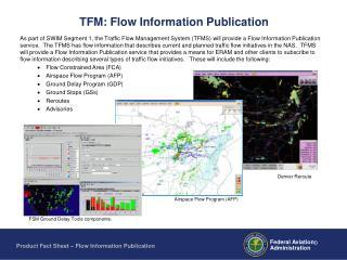 TFM: Flow Information Publication