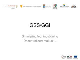GSS/GGI