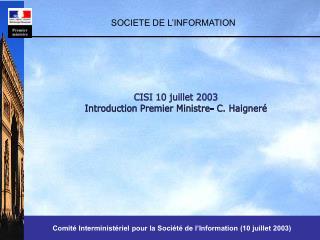 SOCIETE DE L INFORMATION