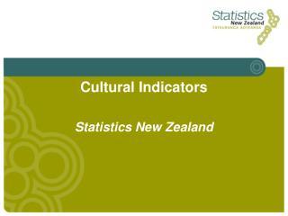 Cu ltural Indicators
