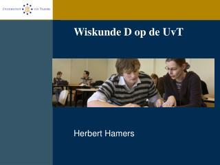 Wiskunde D op de UvT