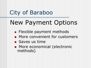 City of Baraboo