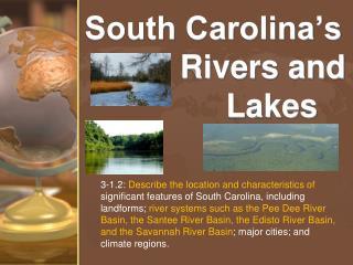 South Carolina's                     Rivers and              Lakes