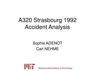 A320 Strasbourg 1992 Accident Analysis