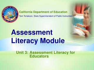 Assessment  Literacy Module