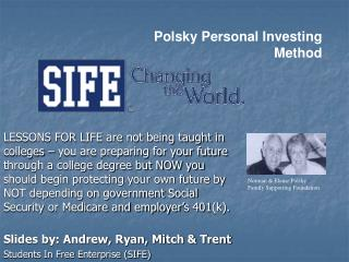 Polsky Personal Investing Method