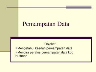 Pemampatan Data