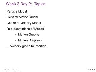 Week 3 Day 2:  Topics