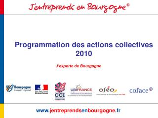 Programmation des actions collectives 2010