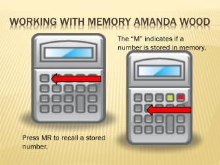 Working with memory Amanda  WOod