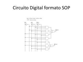 Circuito Digital formato  SOP