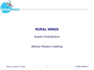 RURAL WINGS