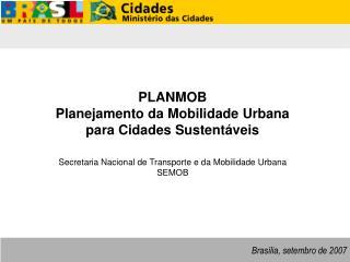 Brasília, setembro de 2007