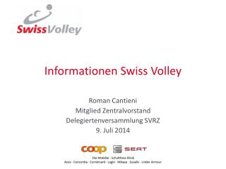 Informationen Swiss Volley