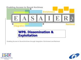 WP8. Dissemination & Exploitation