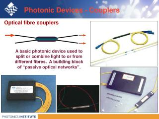 Photonic Devices - Couplers