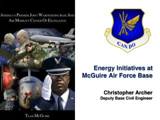 Energy Initiatives at McGuire Air Force Base