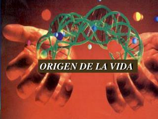 ORIGEN DE LA VIDA