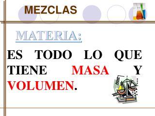 MATERIA: