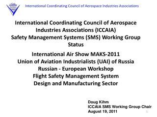 International Coordinating Council of Aerospace Industries Associations