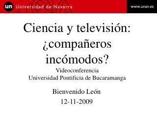 Bienvenido León 12-11-2009