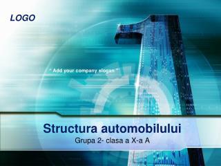 Structura automobilului