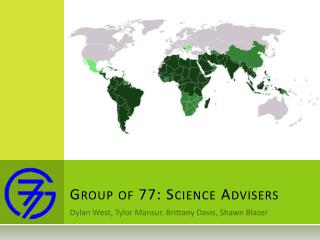 Group of 77: Science Advisers