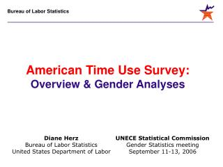 UNECE Statistical Commission Gender Statistics meeting September 11-13, 2006