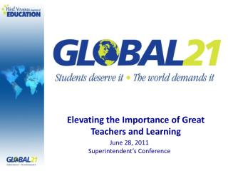 Elevating the Importance of Great Teachers and Learning