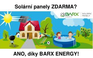 Solární panely ZDARMA?