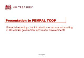 Presentation to PEMPAL TCOP