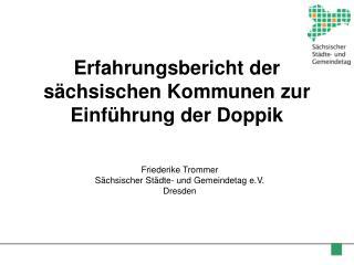 Erfahrungsbericht der sächsischen Kommunen zur Einführung der Doppik