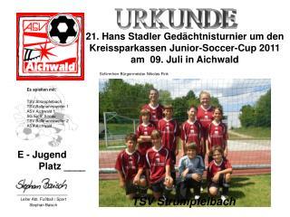 TSV Str�mpfelbach