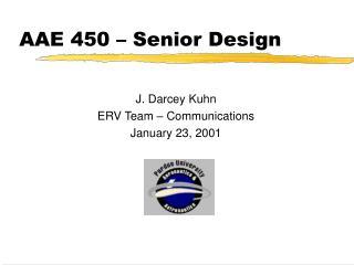 AAE 450 – Senior Design