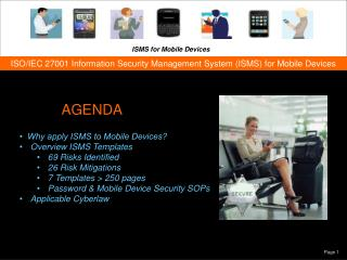 ISO/IEC 27001 Information Security Management System (ISMS) for Mobile Devices