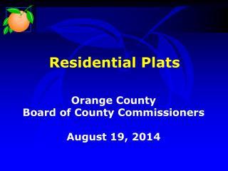Residential Plats
