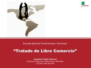 Tratado de Libre Comercio Centroamérica - Estados Unidos de Norteamérica