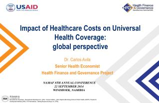 Impact of Healthcare  C osts on Universal Health Coverage:  global perspective
