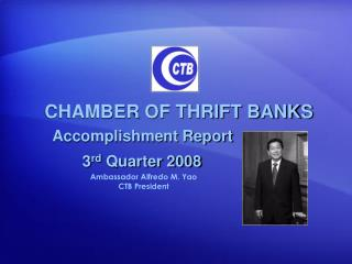 CHAMBER OF THRIFT BANKS
