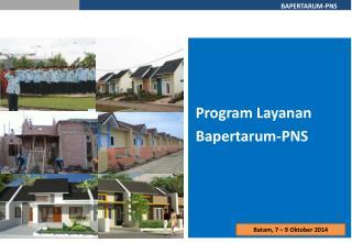 Program Layanan  Bapertarum-PNS